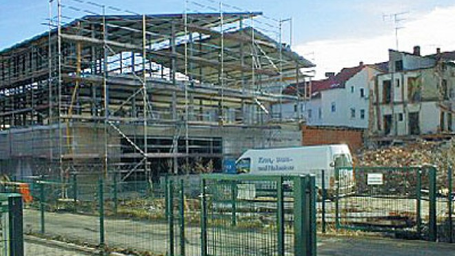 Construction of the digades main building