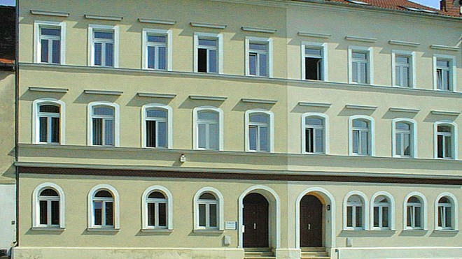 digades building in Zittau 1997